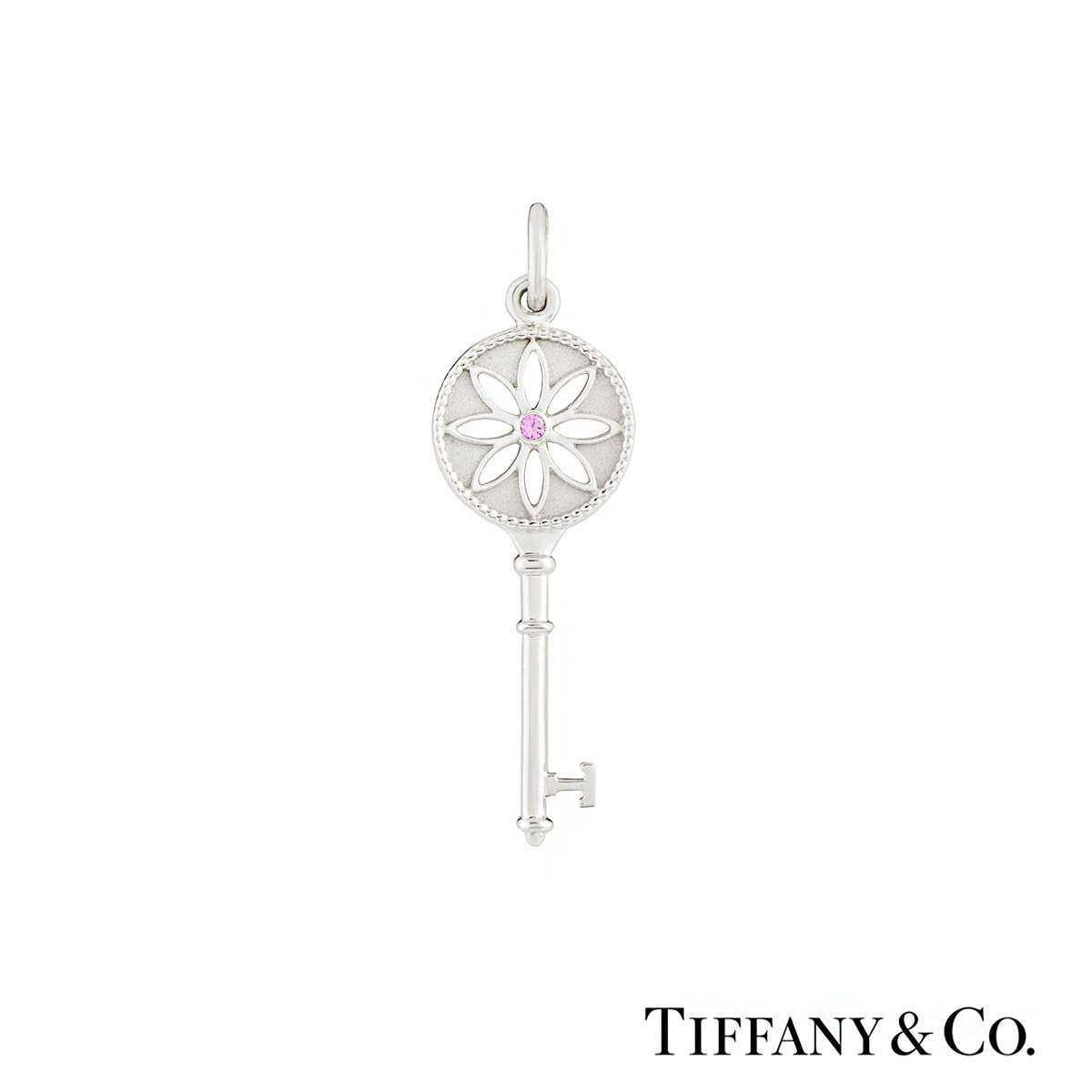 Tiffany & Co. Daisy Key Pendant